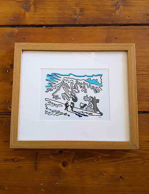 Ben Nevis 12 x 10 Framed Artwork