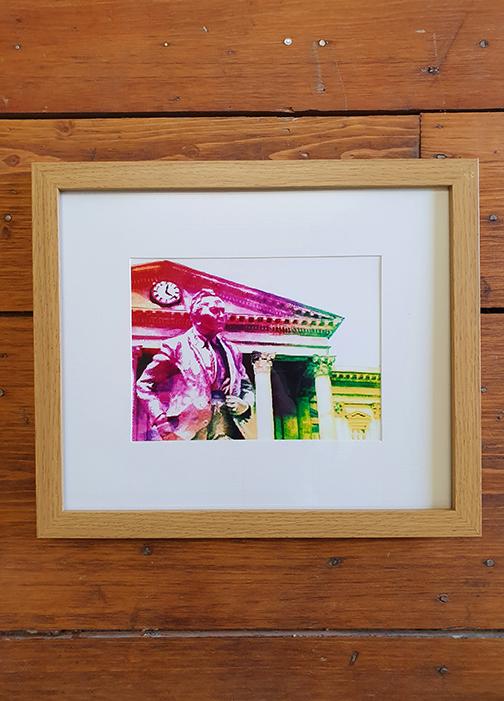 Harold Wilson Rainbow  12 x 10 Framed Artwork