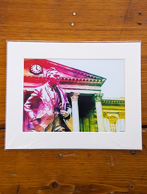 Harold Wilson Rainbow Mounted Artwork Print