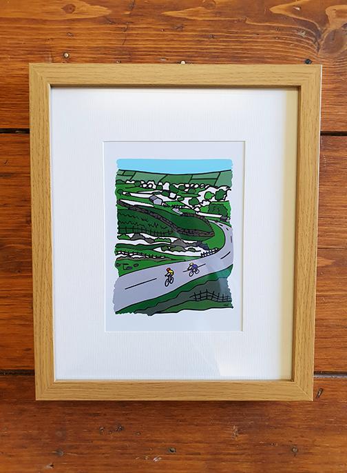Holme Moss 12 x 10 Framed Artwork