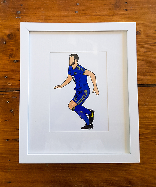 FC Halifax Town (FCHT) Kit 12 x 10 Framed Artwork
