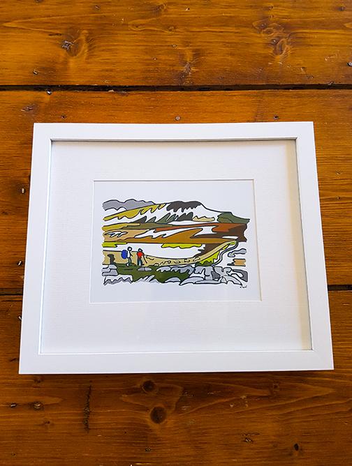 Pen Y Ghent 12 x 10 Framed Artwork