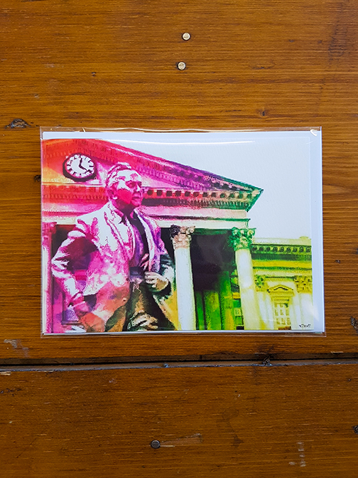 Harold Wilson Rainbow Artwork Card