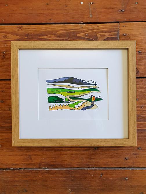 Ingleborough 12 x 10 Framed Artwork