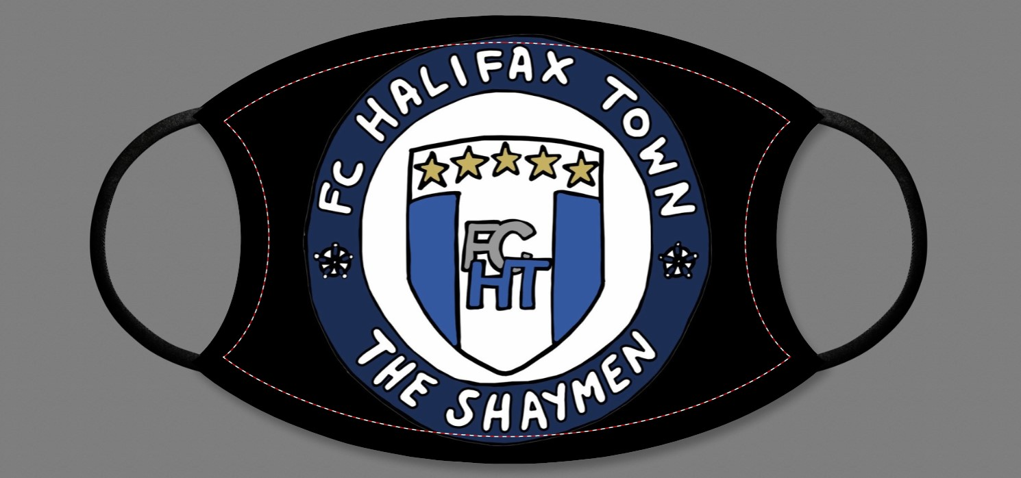 FC Halifax Town Face Mask