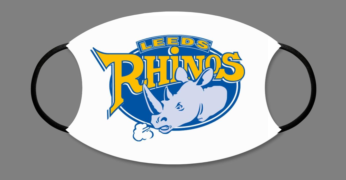 Leeds Rhinos Face Mask