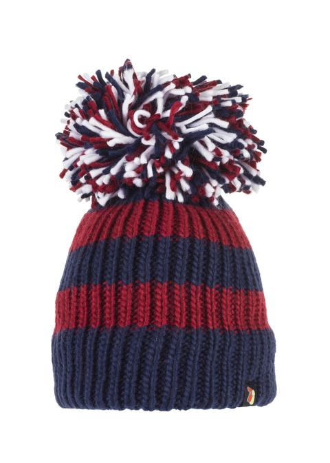 Burgundy Bandit Big Bobble Hat