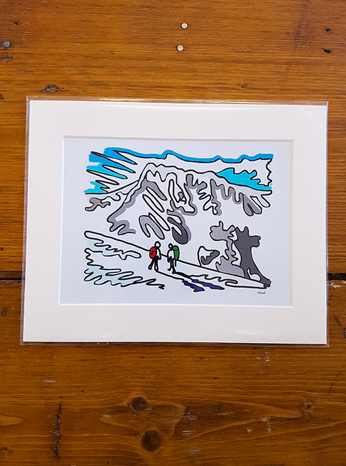 Ben Nevis Mounted Artwork Print