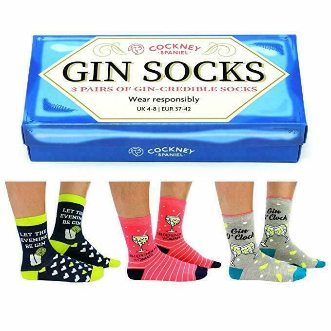 Gin Socks Gift Set