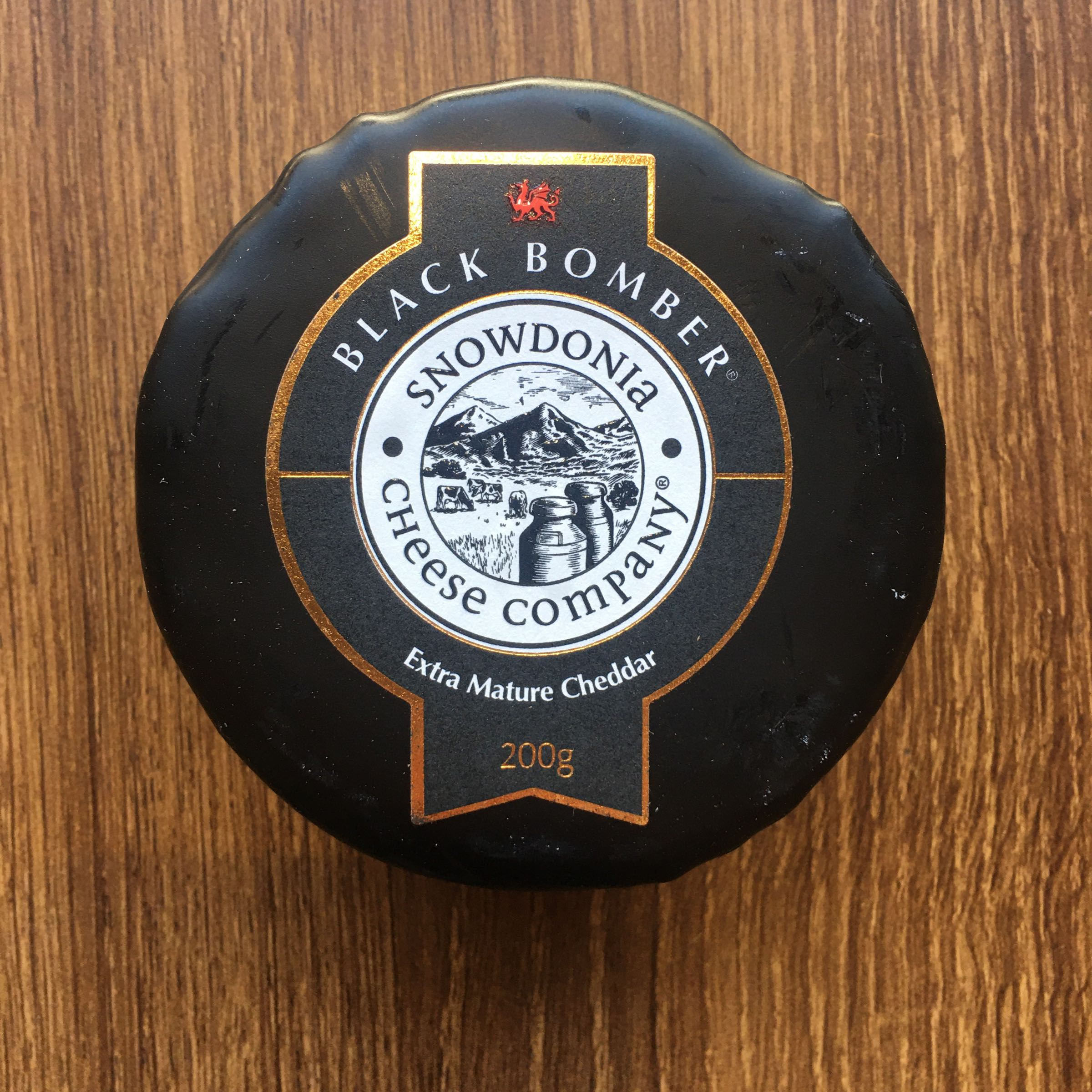 Black Bomber Snowdonia Waxed Cheese