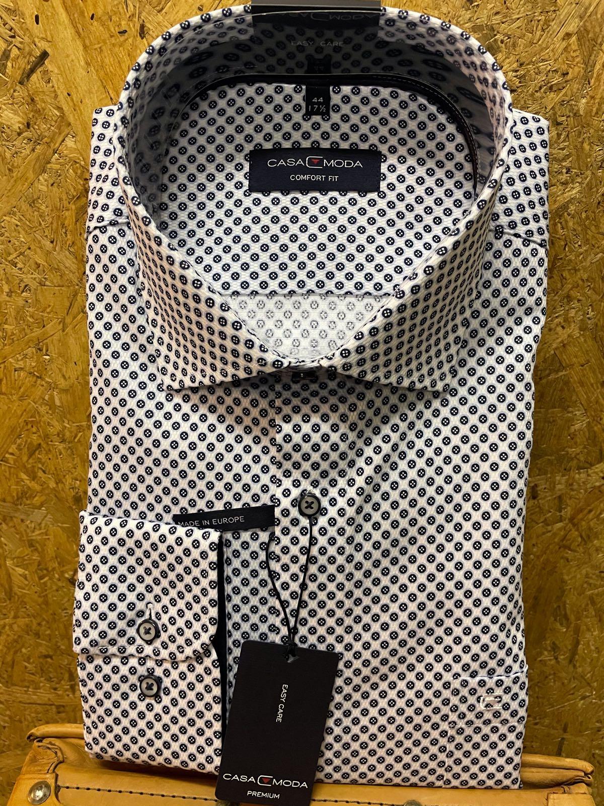 Casa Moda l/æ skjorte prikket