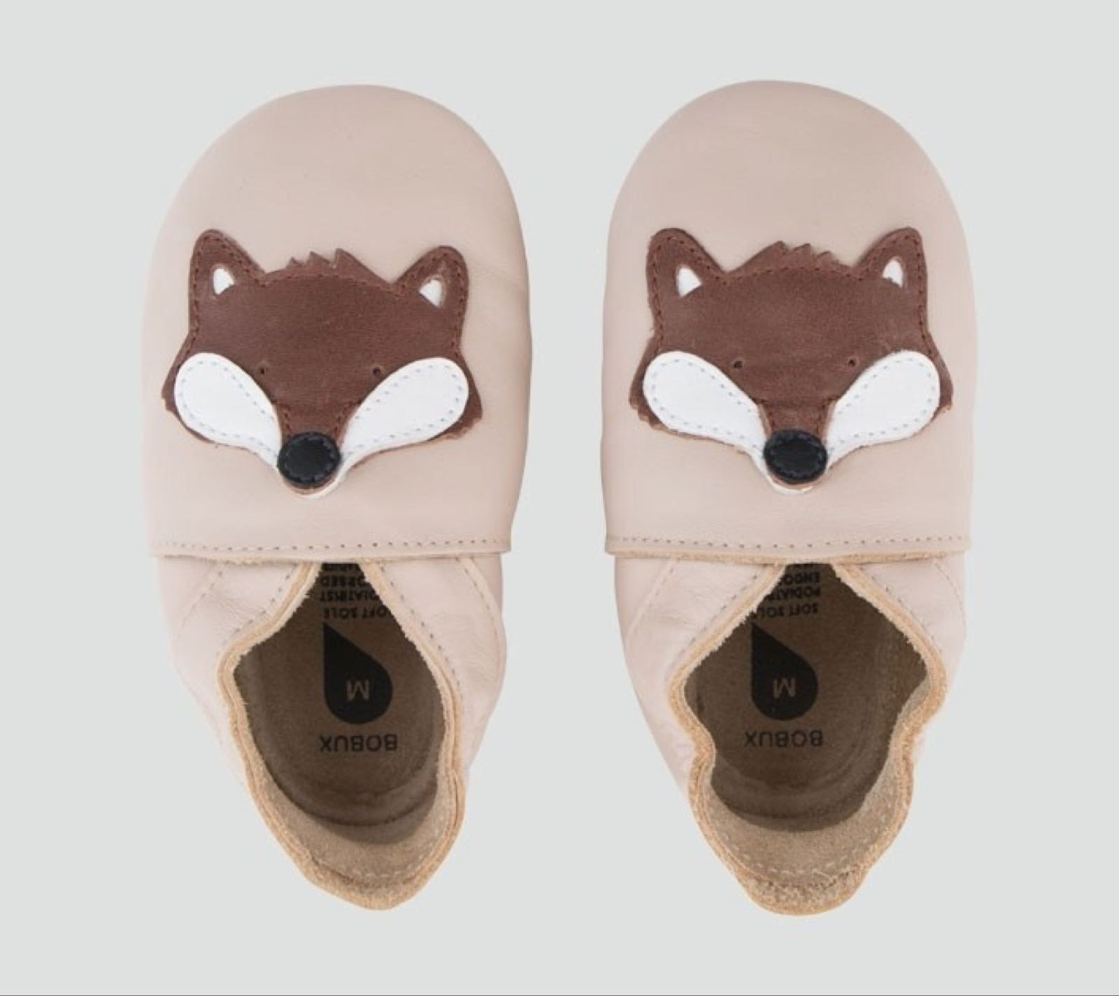 Bobux Soft Sole, Beige Fox
