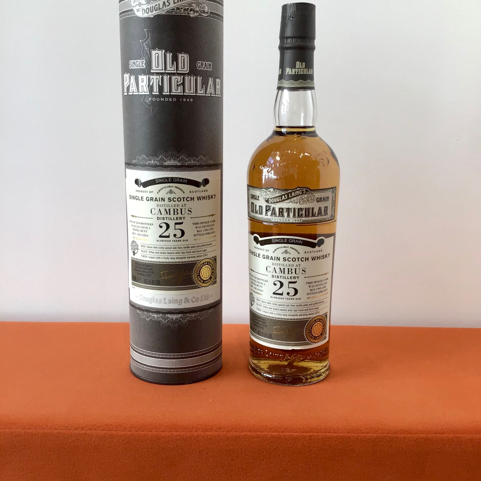 Douglas Laing Old Particular: Cambus 25 Year Old (cask DL13324)