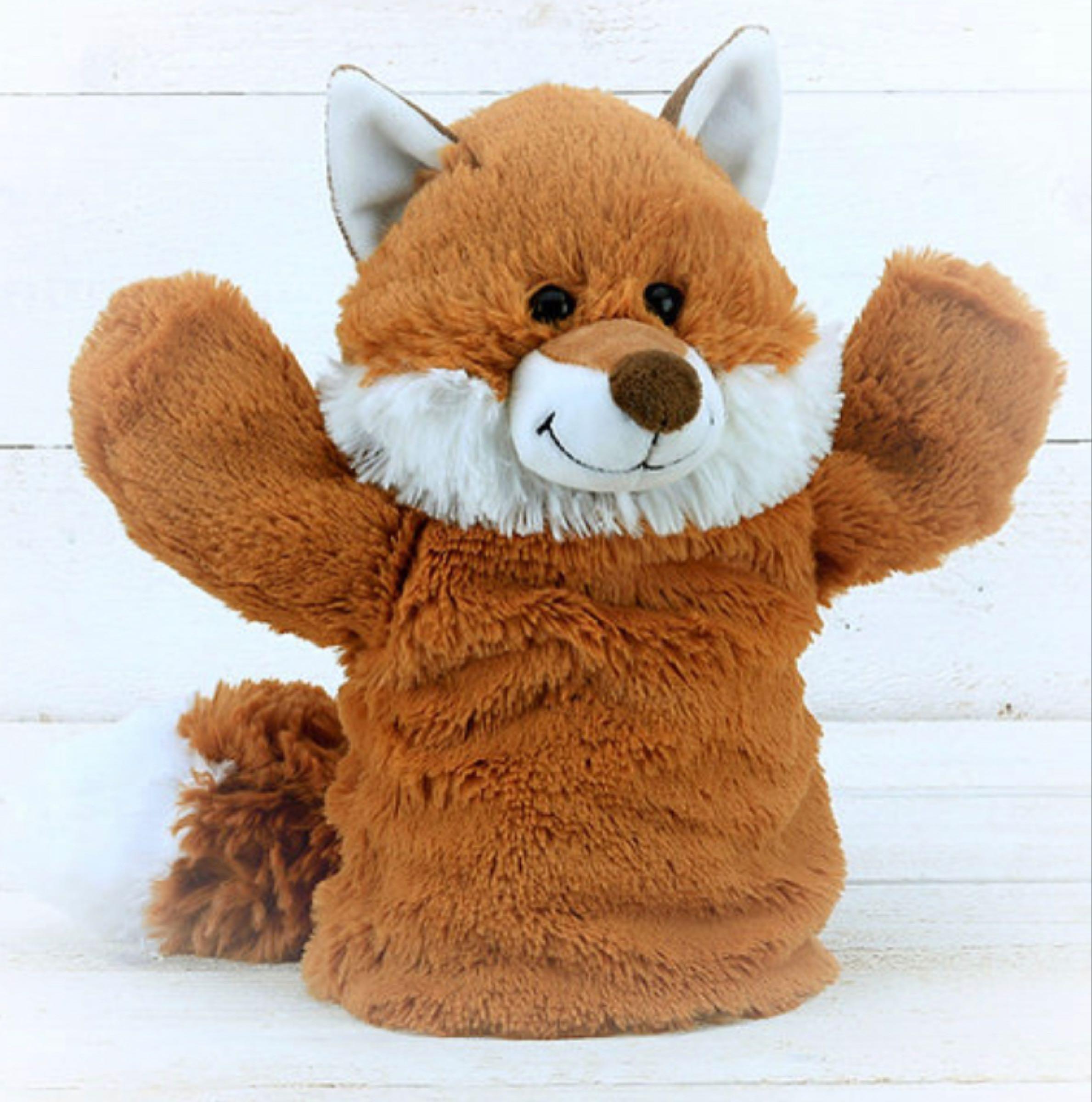 Jomanda Fox Hand Puppet 23cm