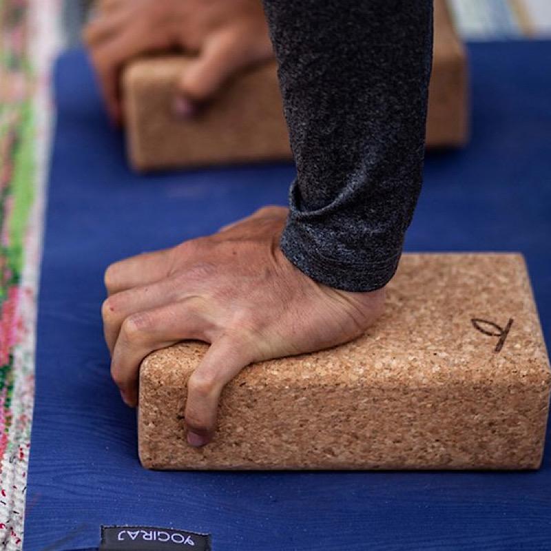 Yoga korkblock