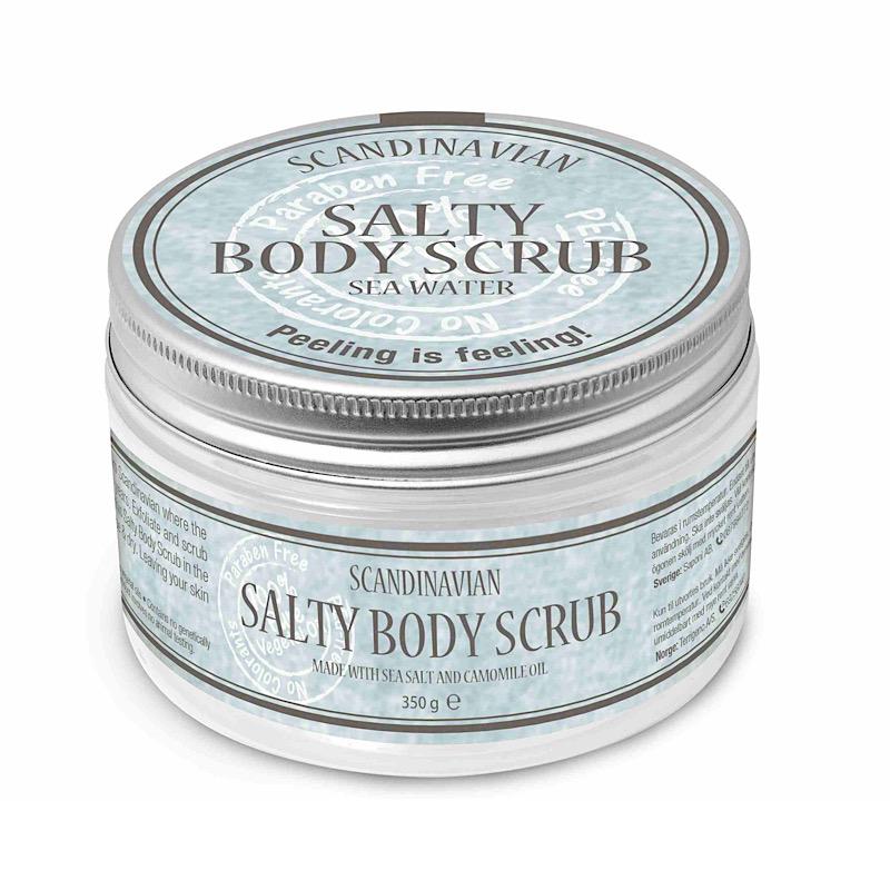 Salty body scrub