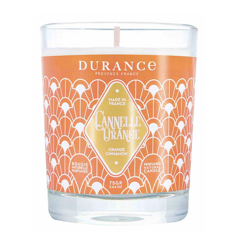 Doftljus  apelsin/kanel
