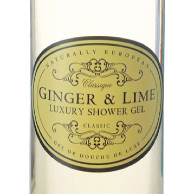 Ginger & Lime shower gel