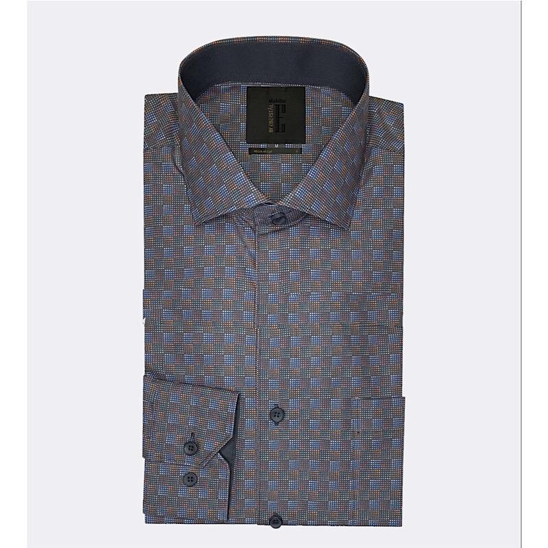Rutprickig optisk skjorta