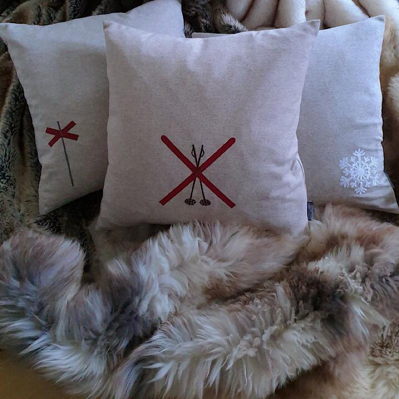 Kuddfodral skidor/stavar