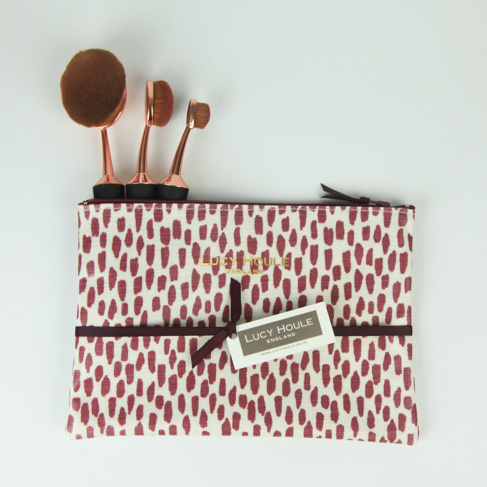 Mulberry Cobblestone Make-Up Bag 'Limited Edition'