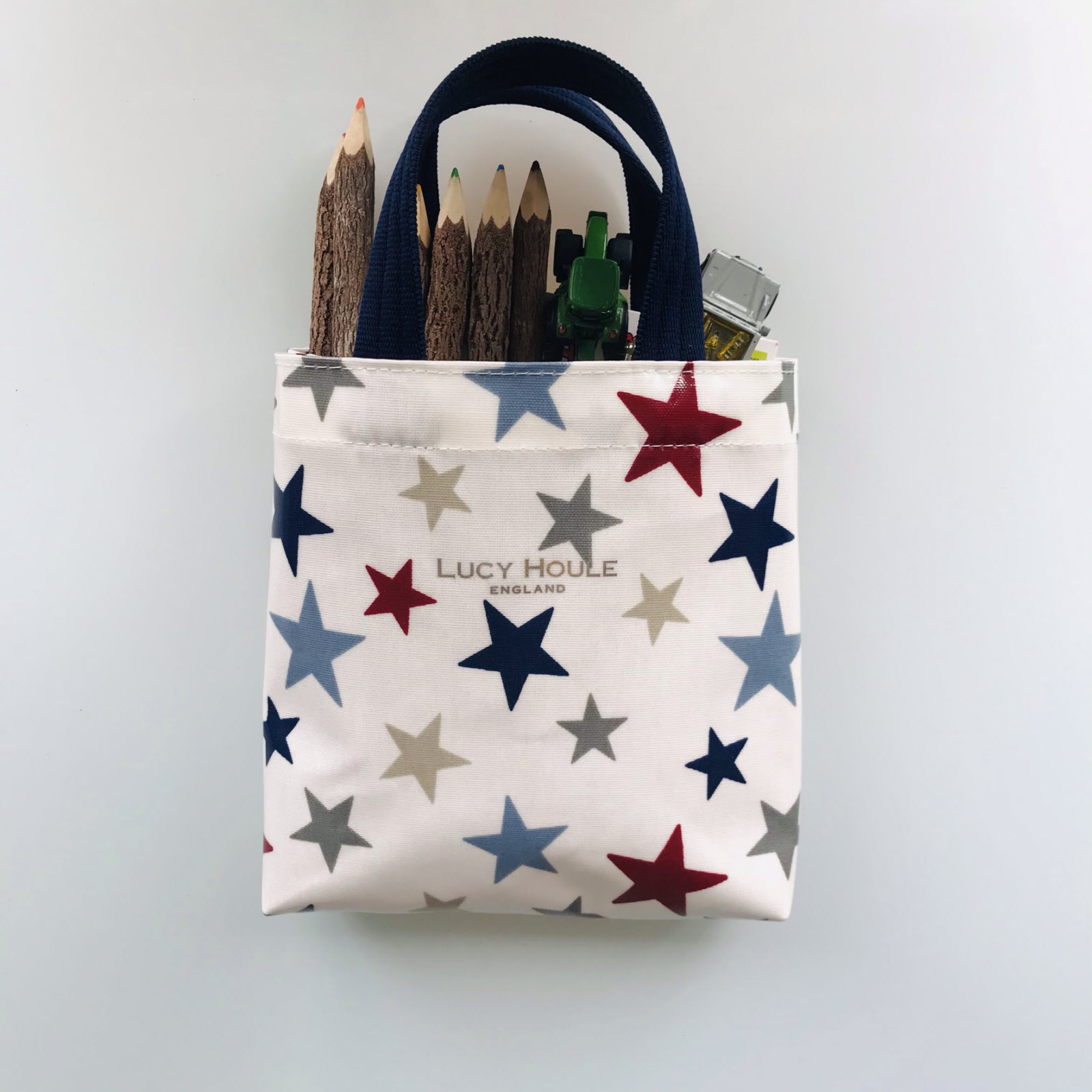 New England Star Blue Tots Tote Bag