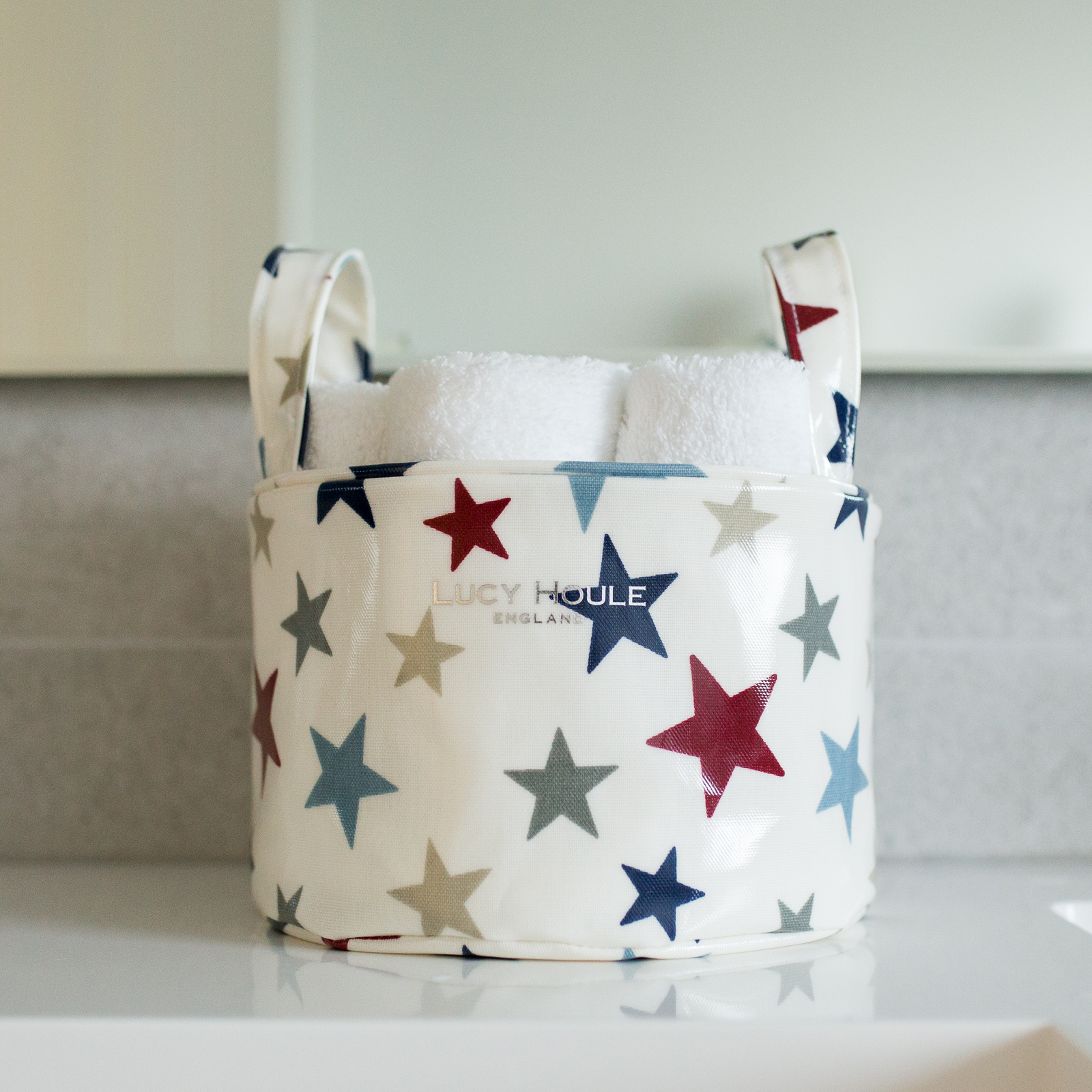 New England Star Blue Small Tidy
