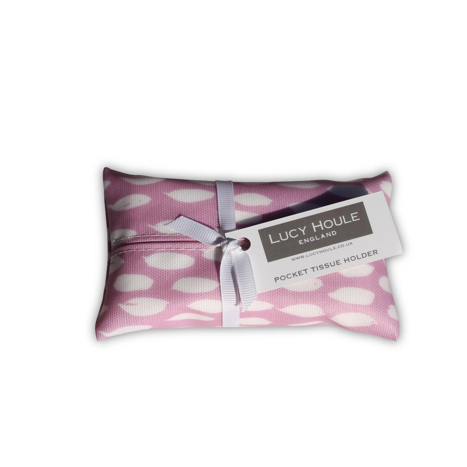 Sherbet Feather Pocket Tissue Holder