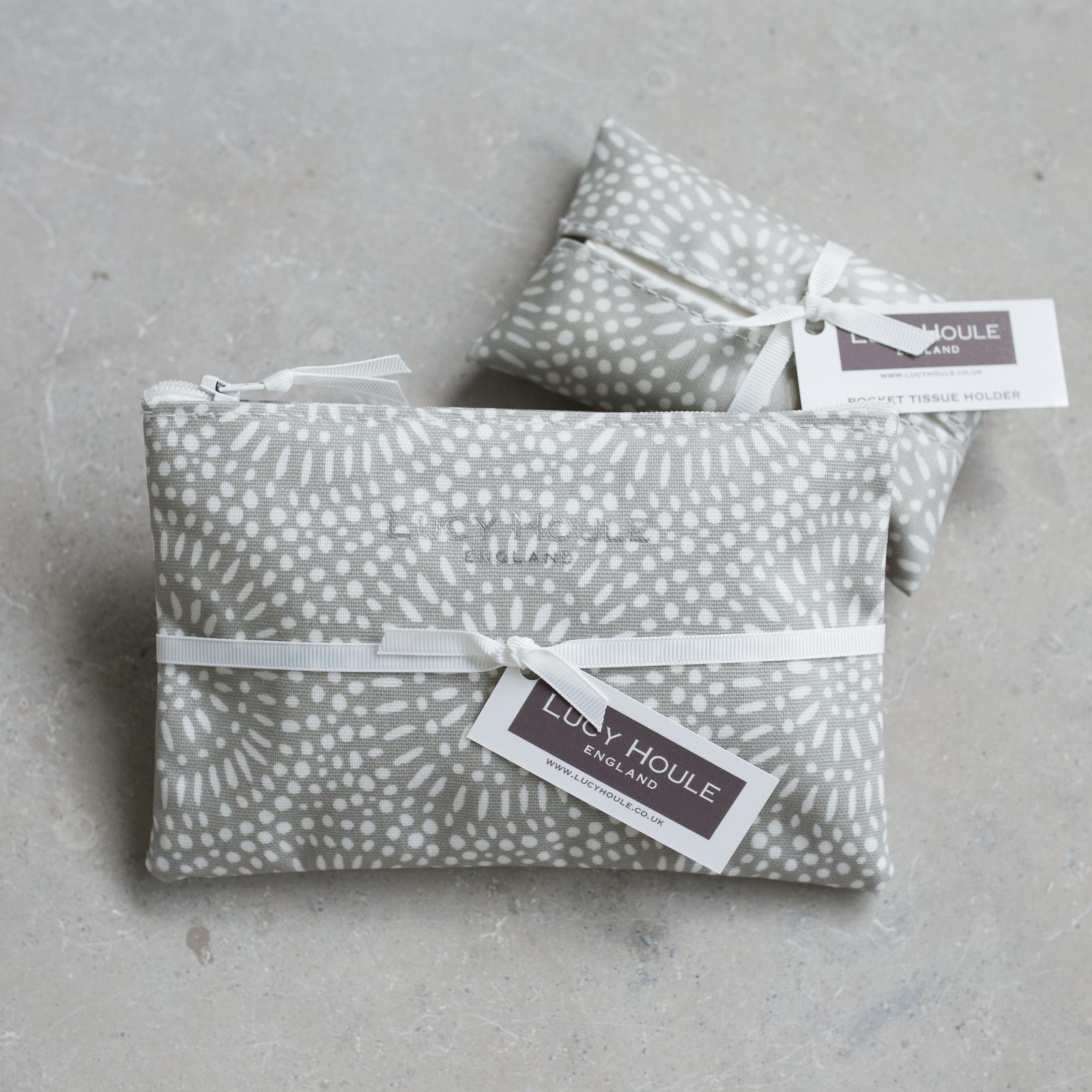 Stone Sunburst  Handbag Set White Zip