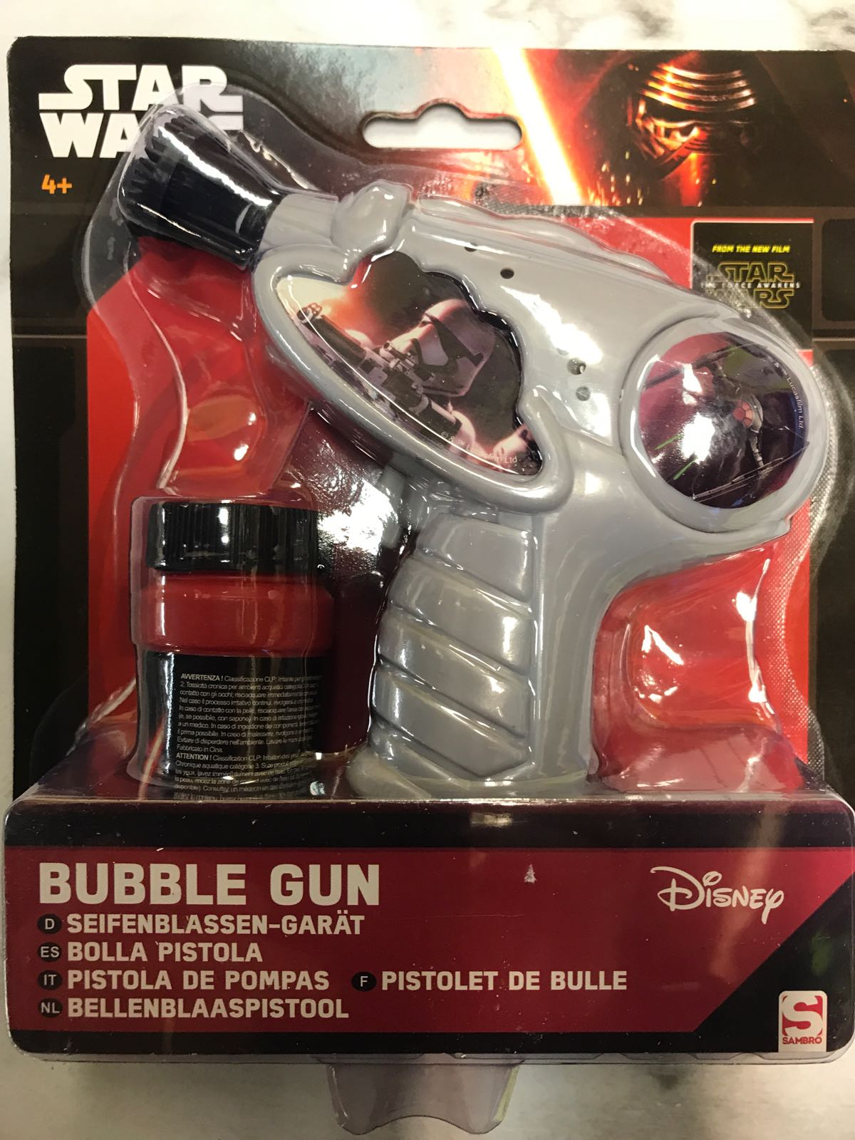 Bubbelpistol Star Wars