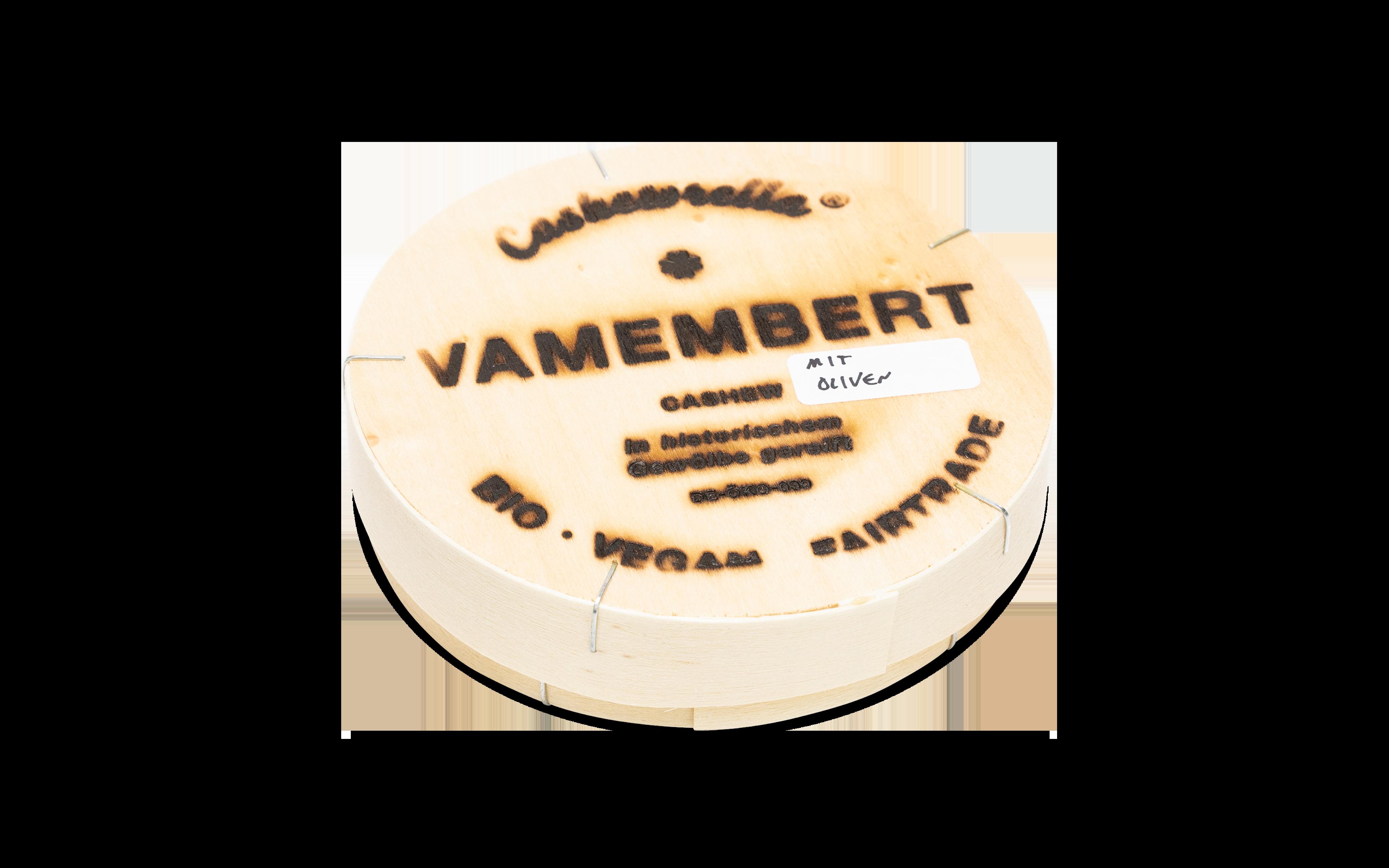 Vamembert mit Oliven [BIO]+[VEGAN]