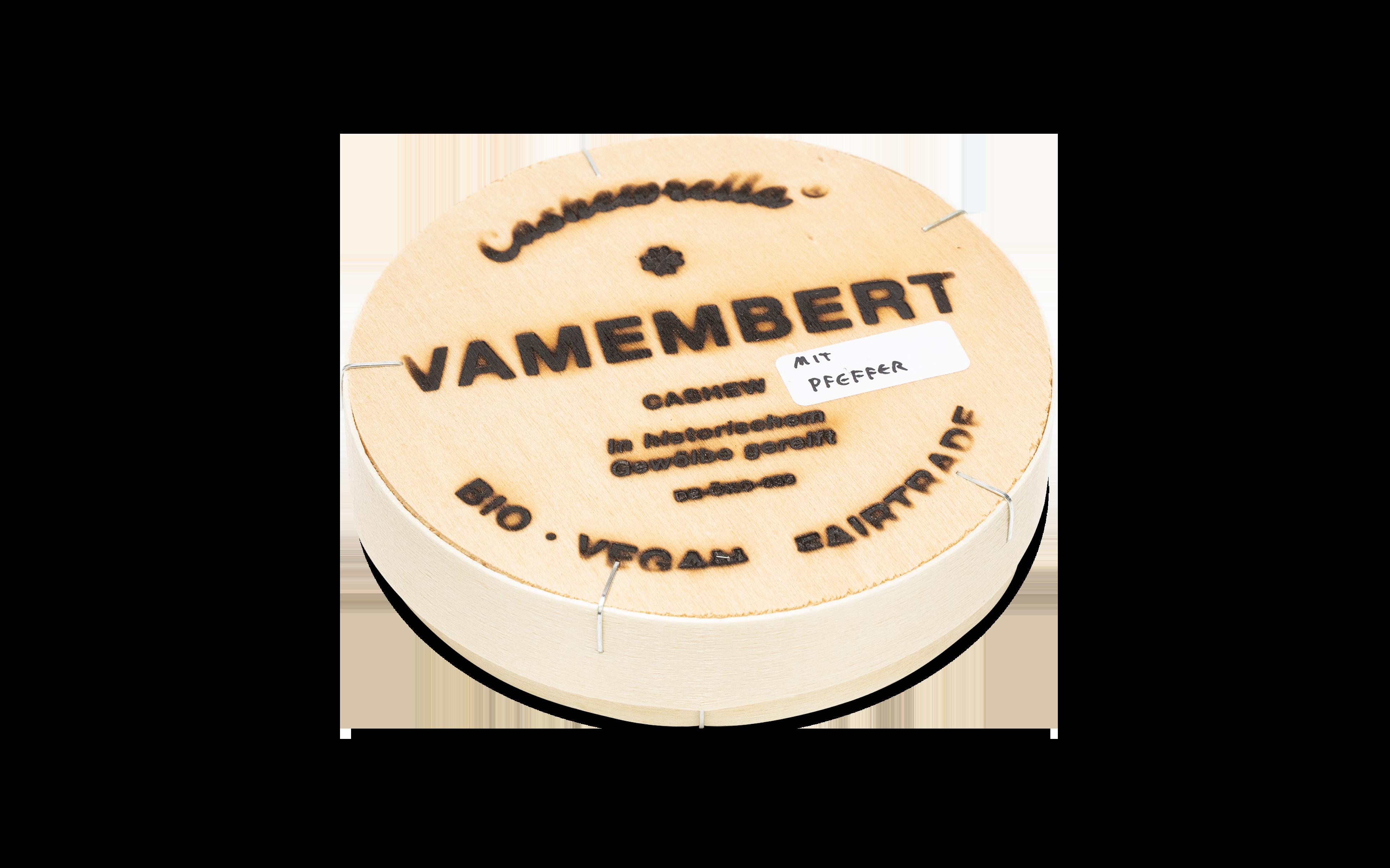Vamembert mit Pfeffer [BIO]+[VEGAN]