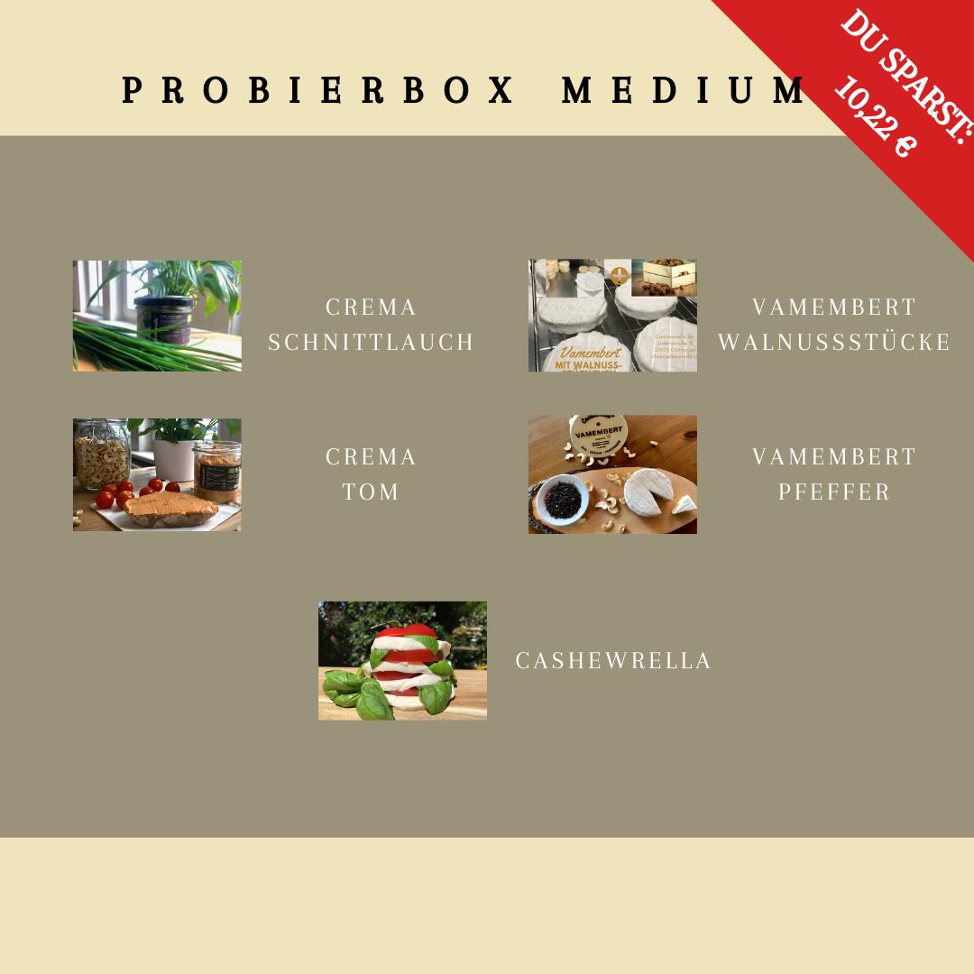 Probierbox Medium