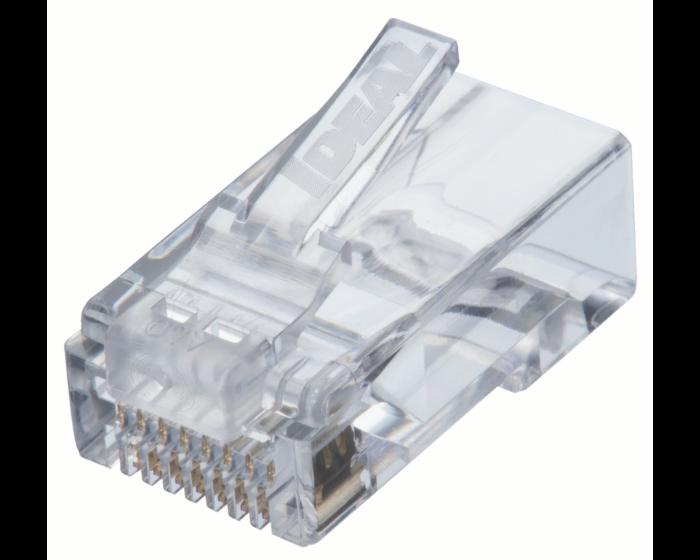 CAT6 Feed-Thru Modular Plugs -50 pk  85-376