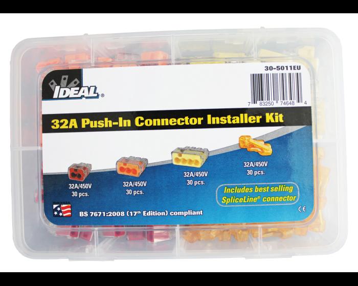 CONNECTOR INSTALLER KIT (32A PUSH-IN)  30-5011EU