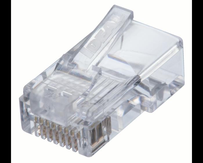 CAT5e Feed-Thru Modular Plugs -50 pk  85-371