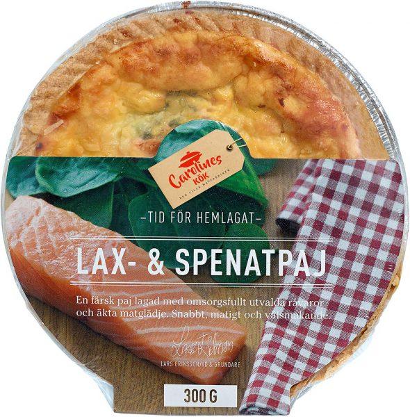 Lax- & Spenatpaj