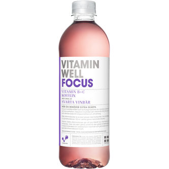 Vitamin Well Focus 50 cl PET