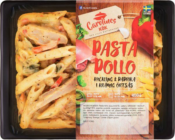 Pasta Pollo kyckling & paprika i krämig örtsås