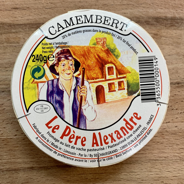 Camembert Le Père Alexander