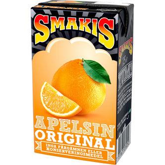 Smakis Apelsin 25 cl
