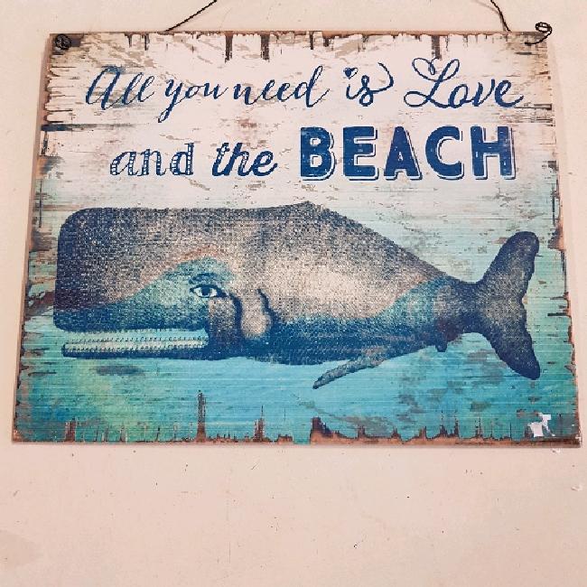 Skylt beach