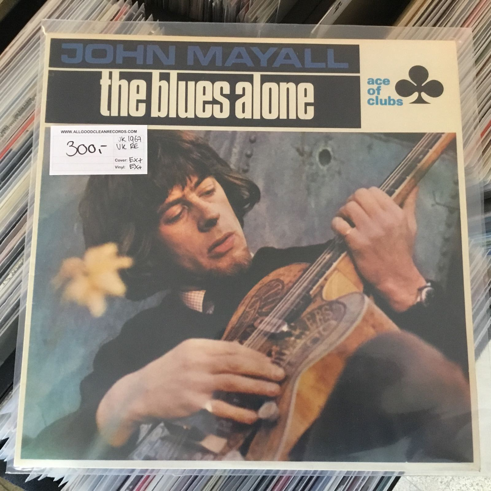 John Mayall – The Blues Alone [LP] (2. hand)