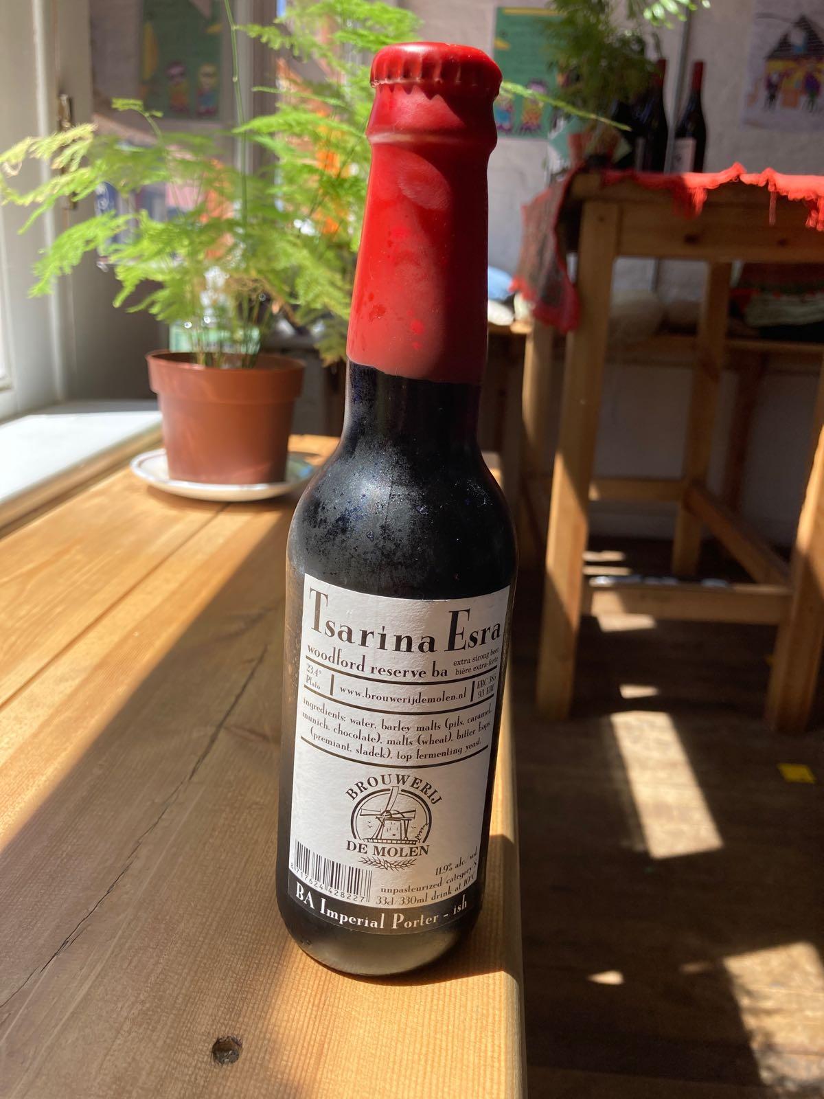 Brouwerij de Molen - Tsarina Esra (11.9% Barrel Aged Imperial Porter)