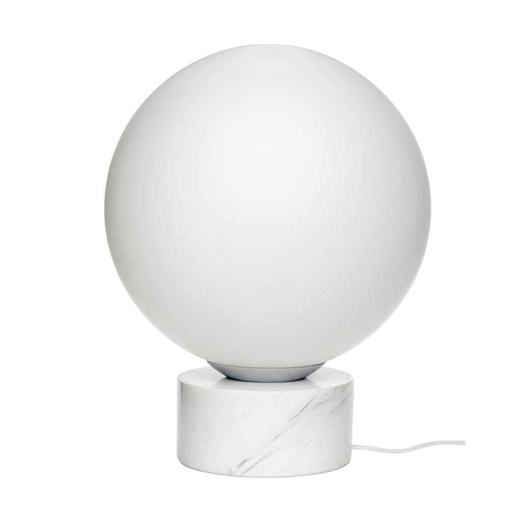 Lampe m. marmorfot
