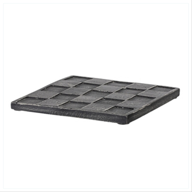 Bordskåner, sort betong