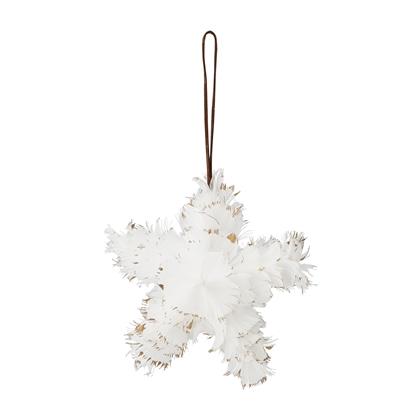 Jule-ornament, fjær