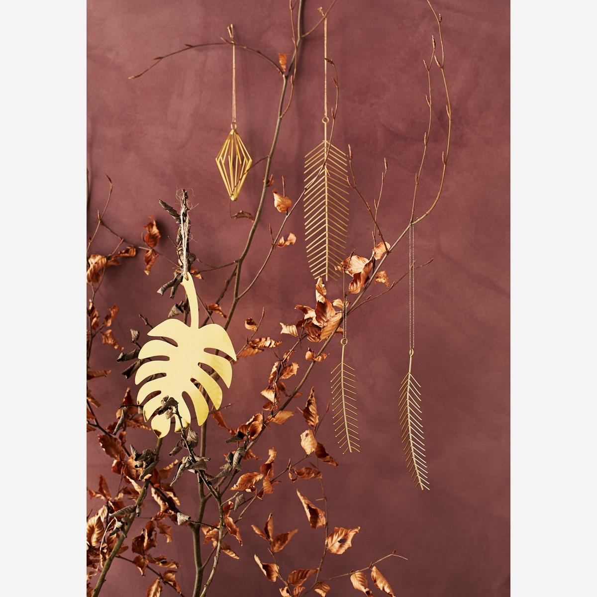 Jern blader, oppheng sett m. 3 stk