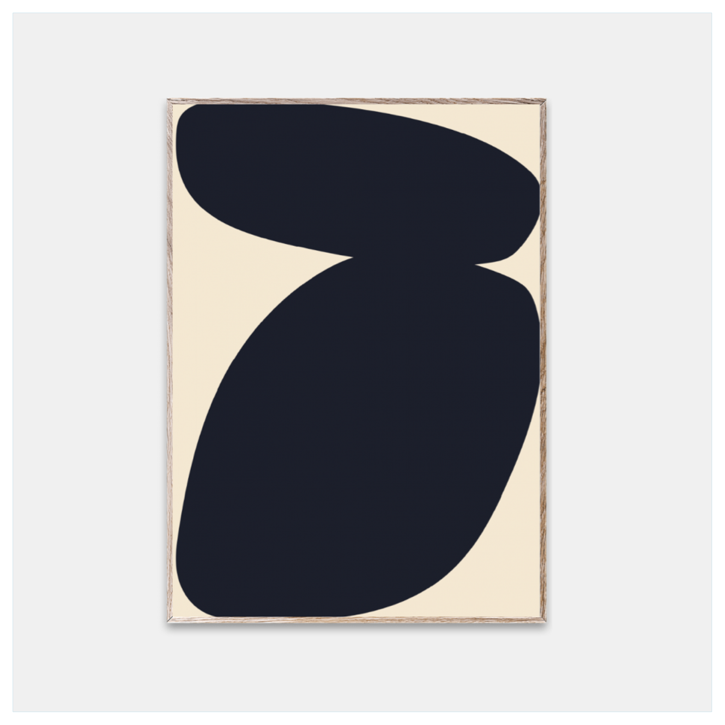 Poster, Solid Shapes 03 str 30x40 cm