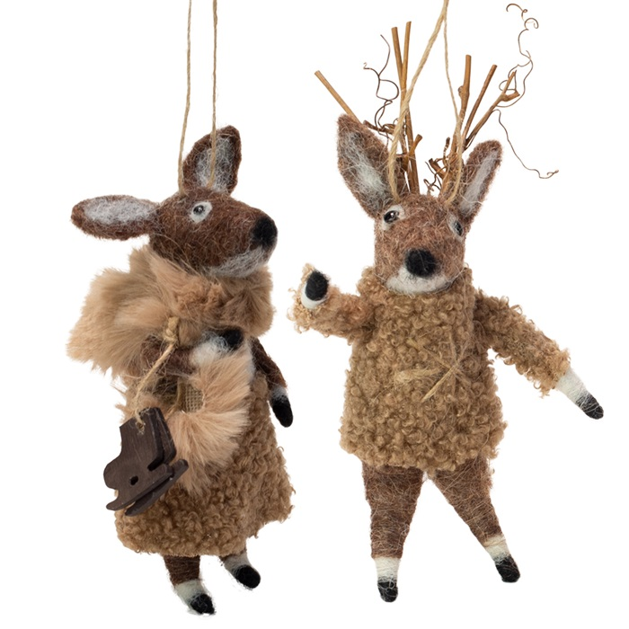 Juletre-ornament reinsdyr